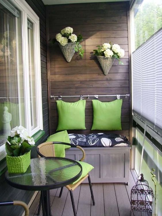 Check out these stunning decorating ideas for your balcony.