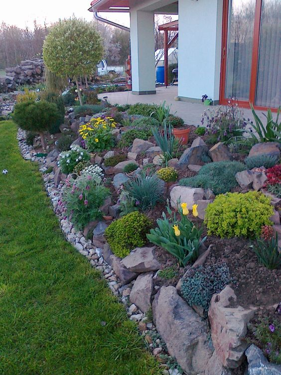 15 Amazing Rock Garden Design Ideas | Page 10 of 15 | Yard ... on Backyard Rocks  id=90435