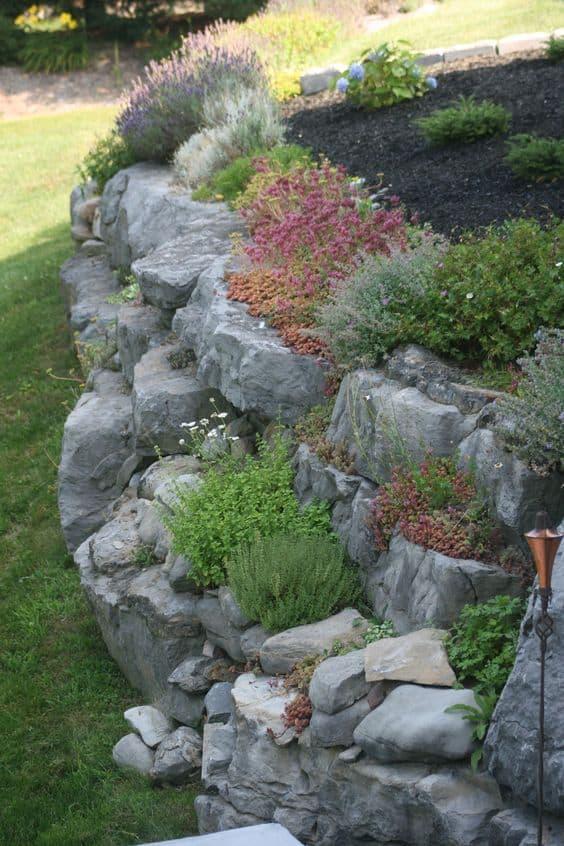 15 Amazing Rock Garden Design Ideas | Yard Surfer on Backyard Patio Landscaping id=98576