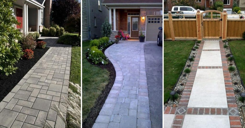 15 Front Yard Walkway Ideas