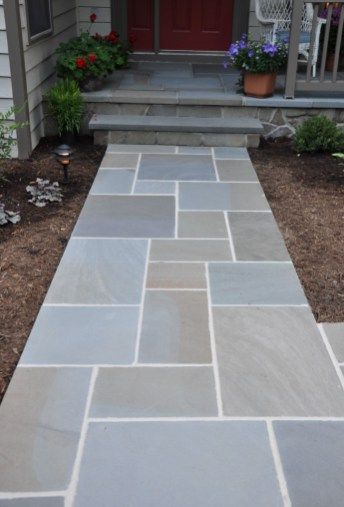 15 Front Yard Walkway Ideas YARD SURFER