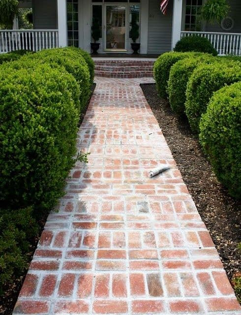 Check out these front yard walkway ideas.