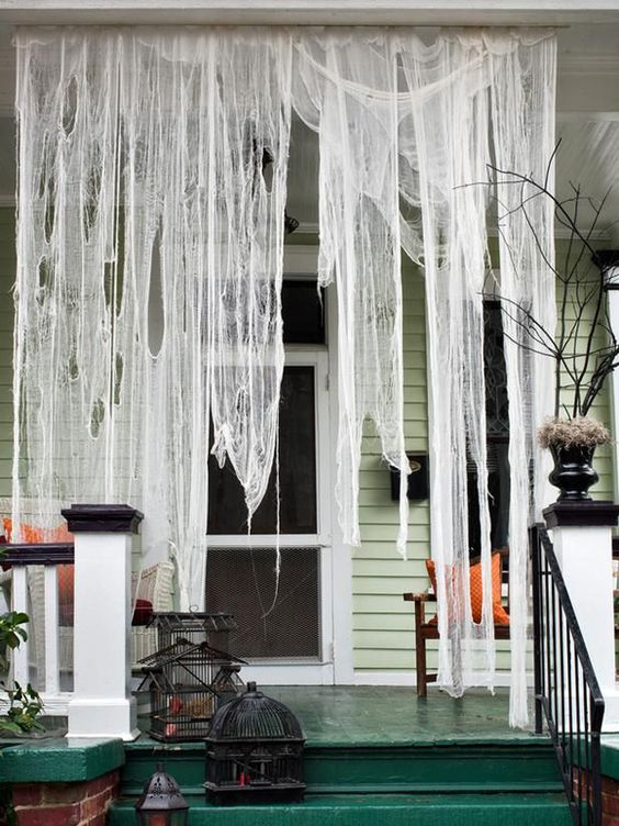 Check out these amazing halloween inspired front yard ideas.