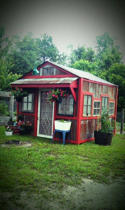 Check out these backyard shed ideas.