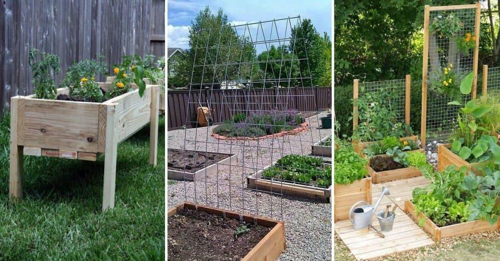 15 Amazing DIY Raised Garden Beds
