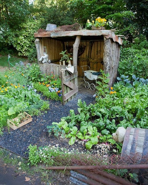 Affordable Backyard Vegetable Garden Designs Ideas 55: 15 Herb & Vegetable Garden Ideas