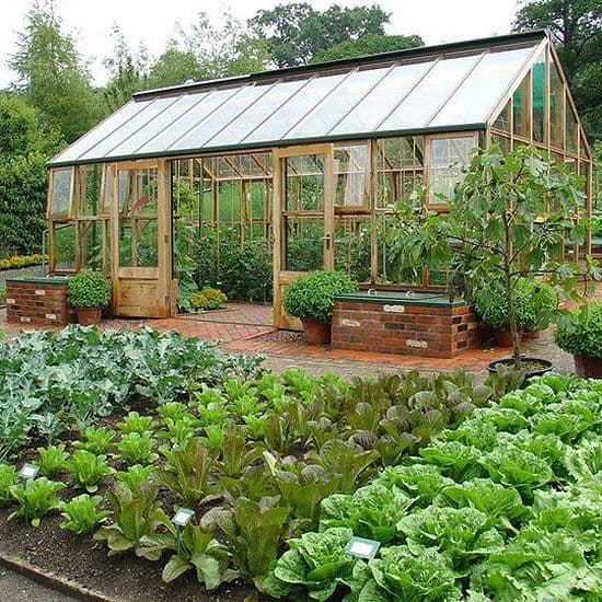 Check out these beautiful vegetable gardens.
