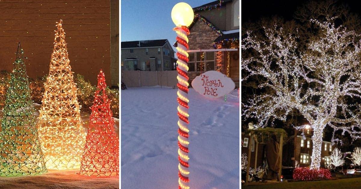 15 Christmas Lighting Ideas Inspiration For Outdoor