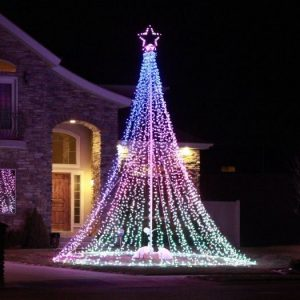 15 Christmas Lighting Ideas Inspiration For Outdoor.