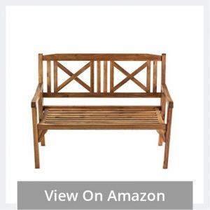 Classic Wooden Garden Bench