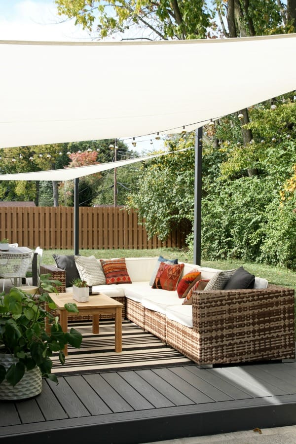 Outdoor Living shade cloths
