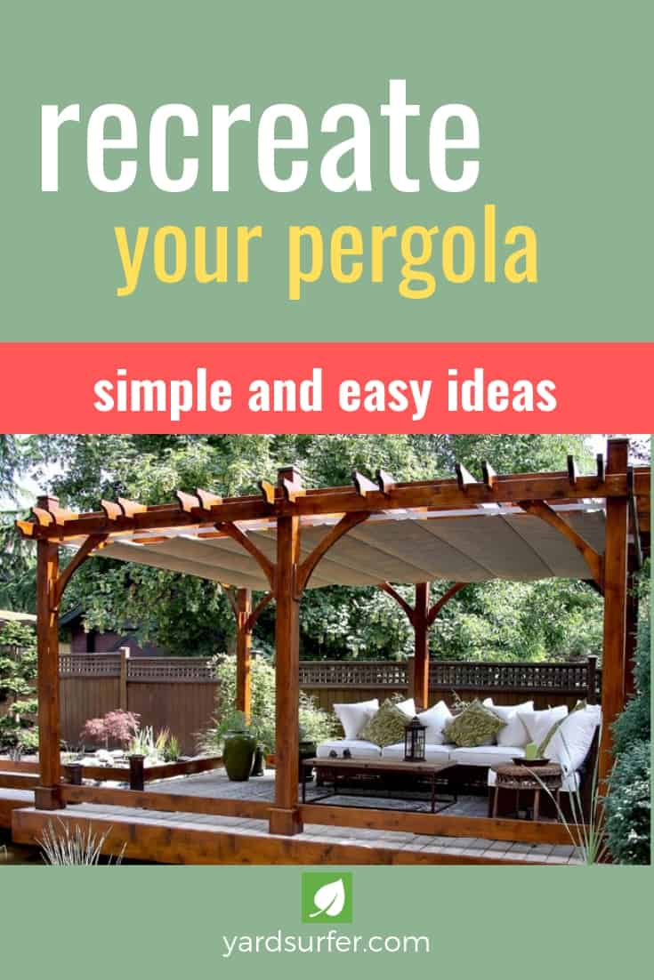 Recreate Your Pergola