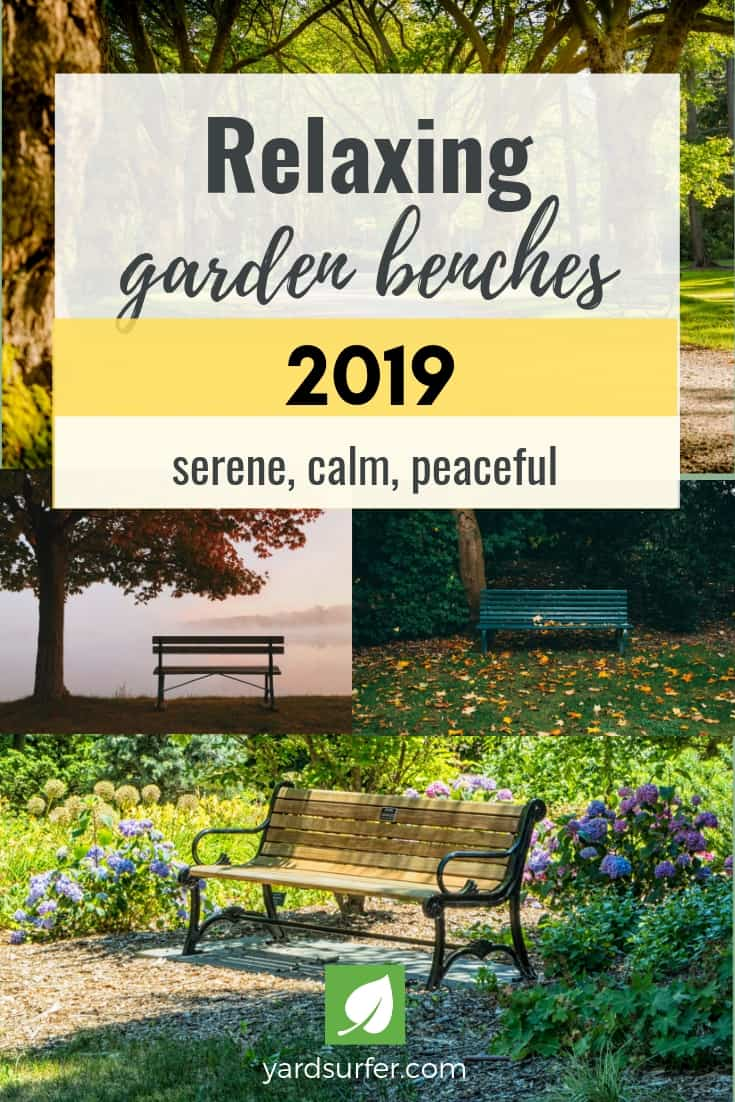 Relaxing Garden or Yard Benches