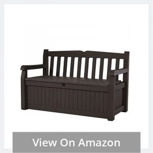 Weather Proof Plastic Garden Bench