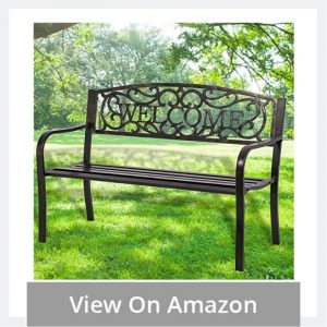 Welcoming Garden Bench to sit at