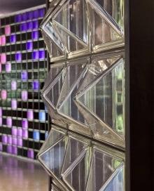 architectural pattern glass block