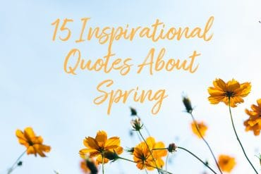 15 Inspirational Quotes about Spring