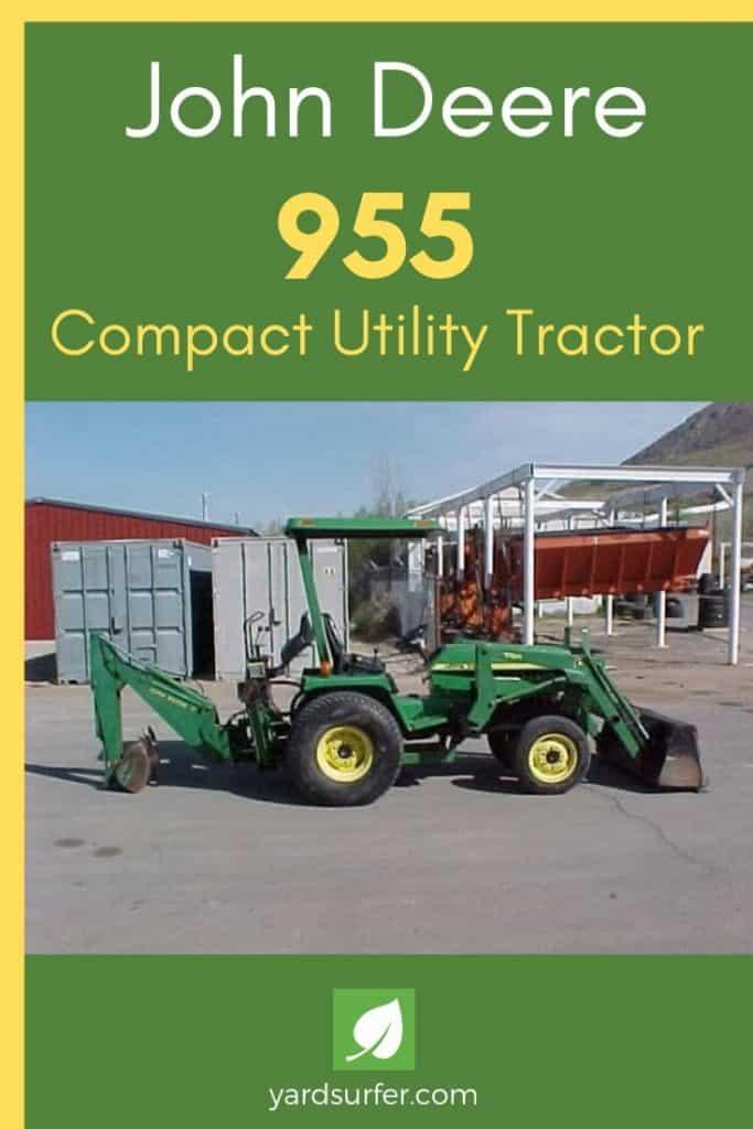 John Deere 955 Compact Utility Tractor