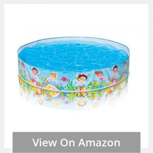 Small Inflatable Plastic Pool