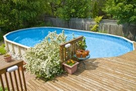 above ground pool decks featured image