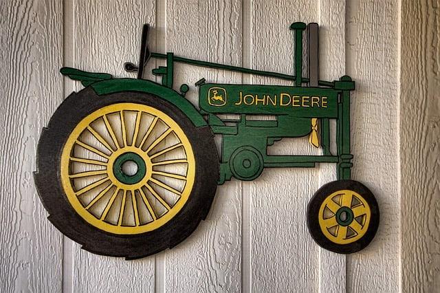 john deere tractor artisanry