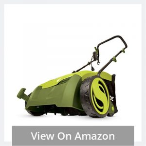 Electric Scarifier Plus Lawn Dethatcher with Collection Bag