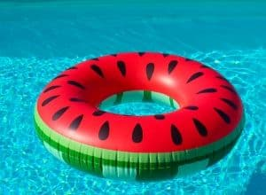 Inflatable Pool with float