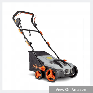 VonHaus 12.5 Amp Corded Electric 2 in 1 Lawn Dethatcher Scarifier and Aerator