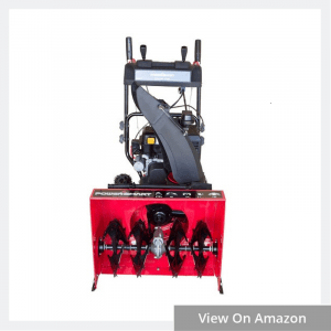 powersmart 2 stage electric start snow blower