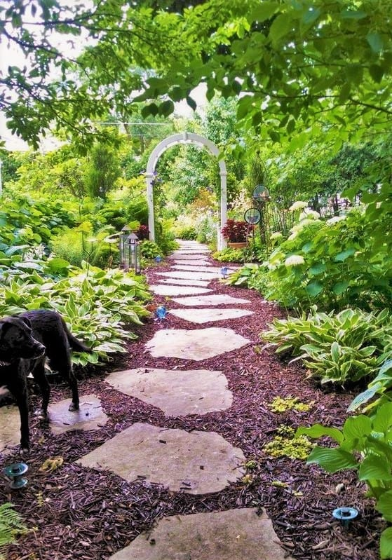 Mulch Walkways