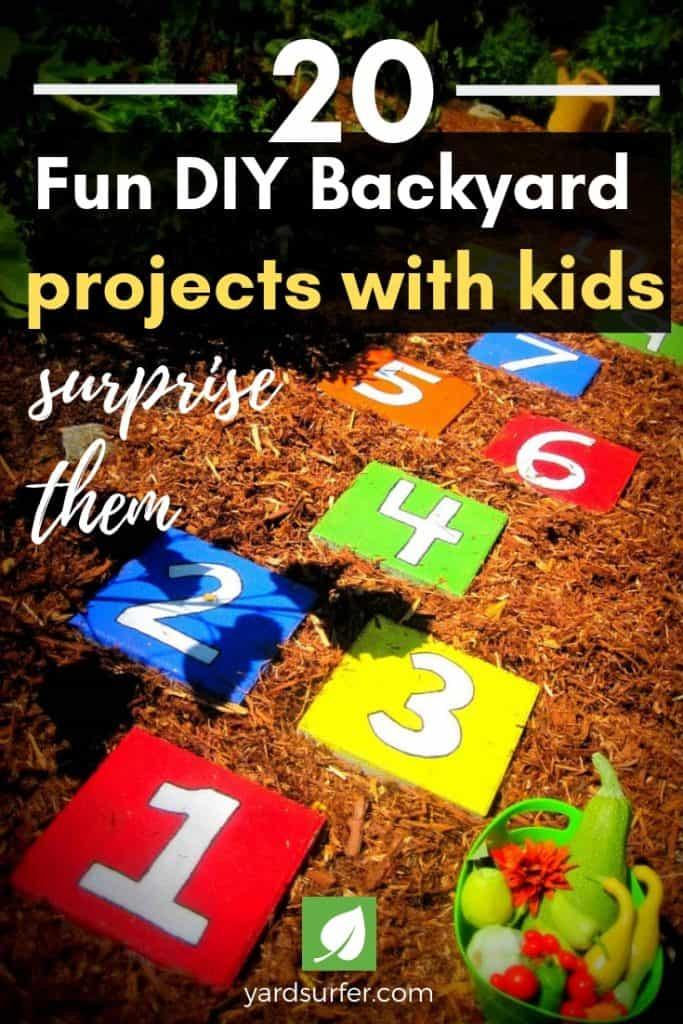 20 Fun Backyard Projects with Kids
