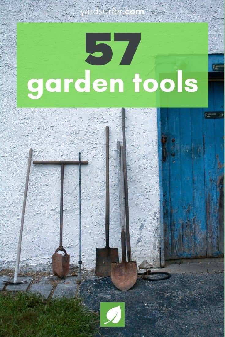 garden tools list