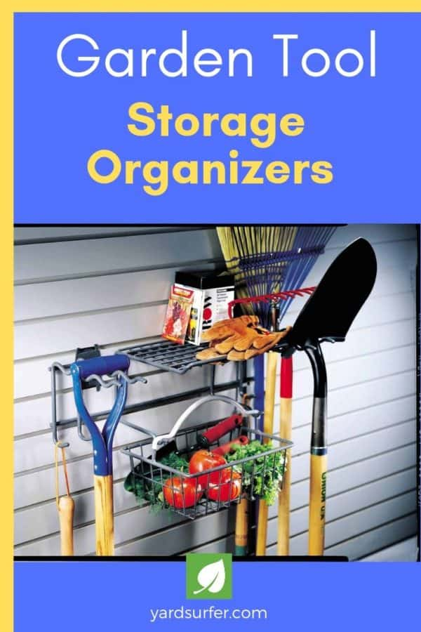 Garden Tool Storage Organizers