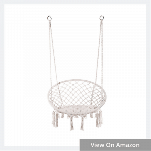 Hanging Cotton Rope Macrame Hammock Swing Chair