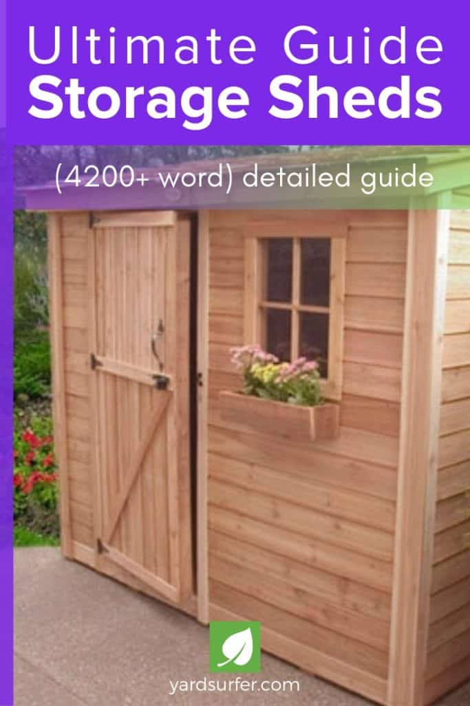 Ultimate Guide Storage Sheds