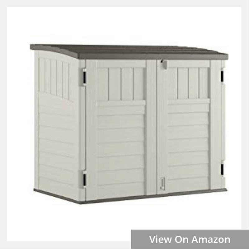 Horizontal Storage Shed