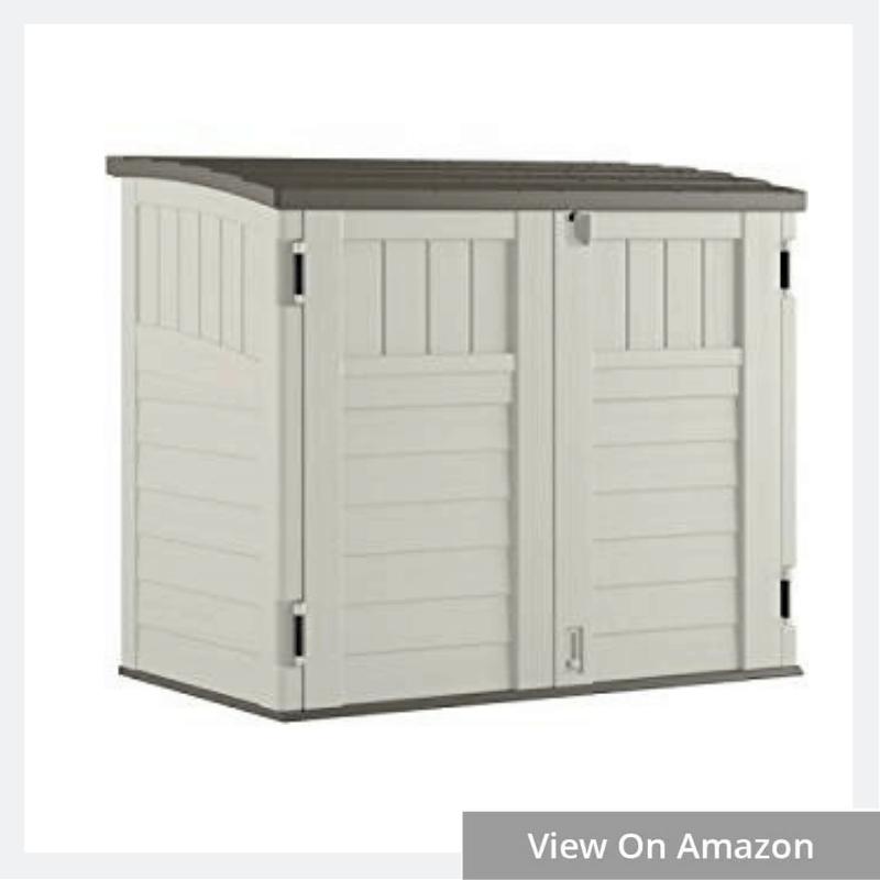 Horizontal Storage Shed