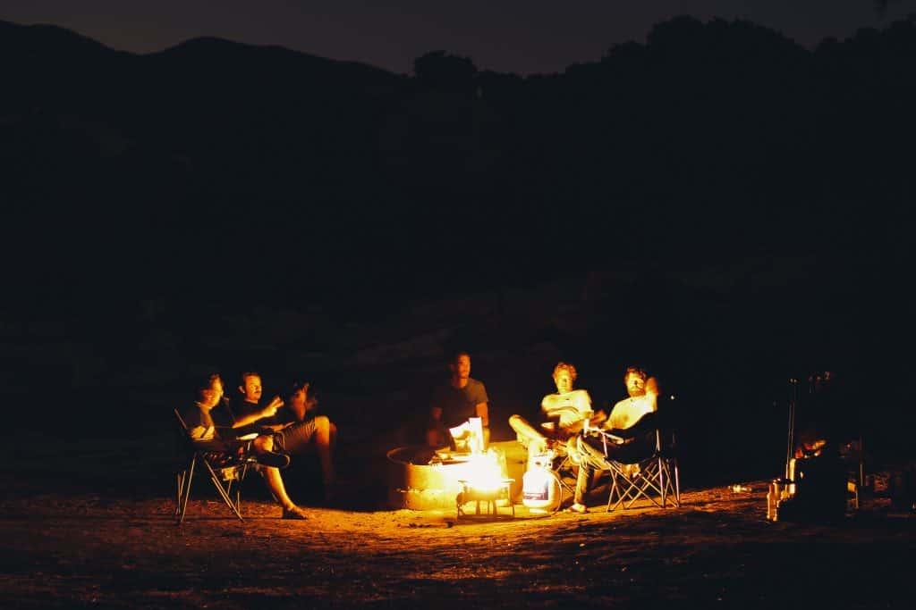 Gather around firepit