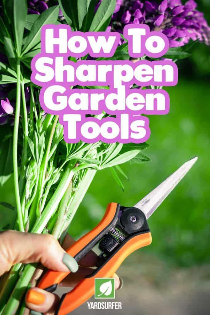 How to Sharpen Garden Tools - Best Sharpeners
