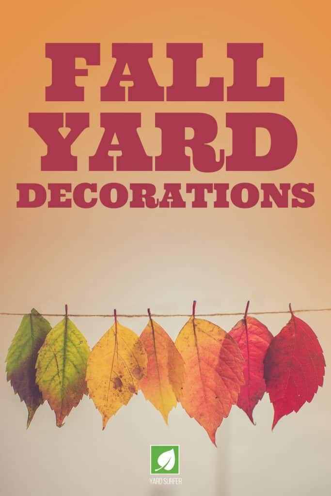 Fall Yard Decorations
