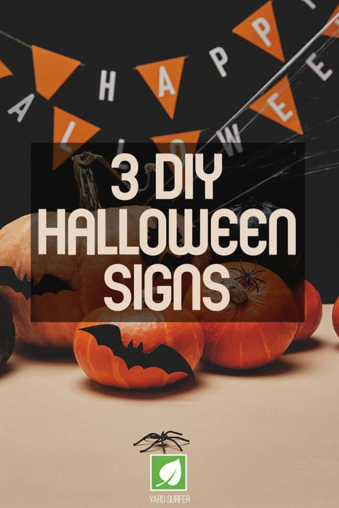 3 DIY Halloween Yard Signs