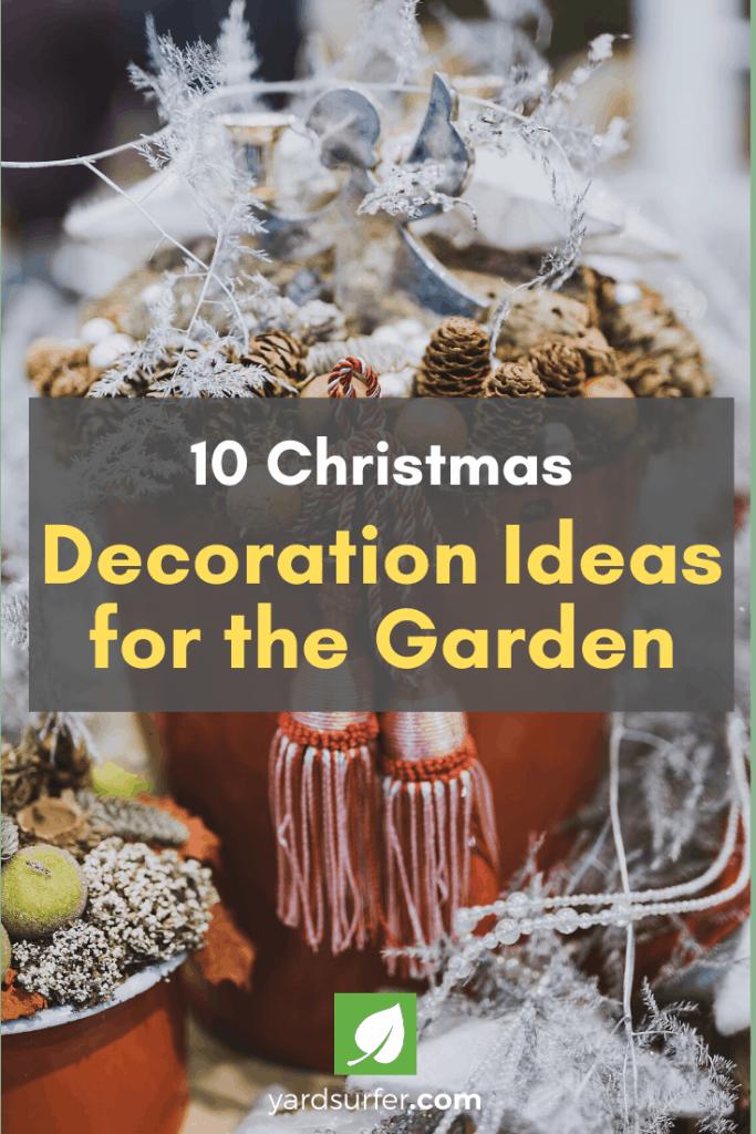 10 Christmas Decoration Ideas for the Garden
