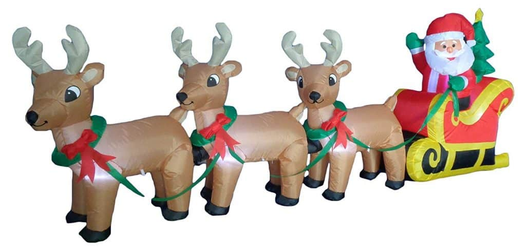 9 of the Best Inflatable Christmas Yard Decorations