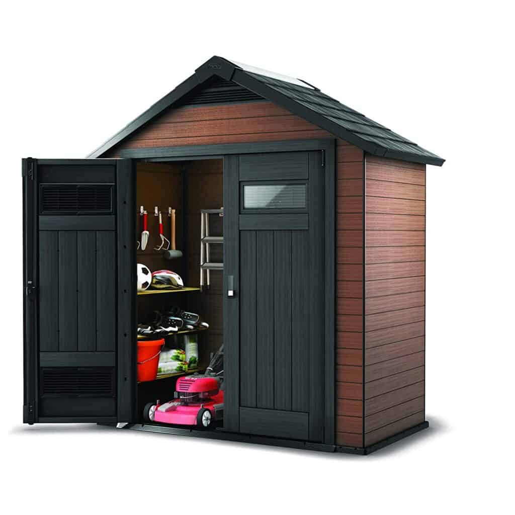 Keter Fusion 7X4 Composite Storage Shed
