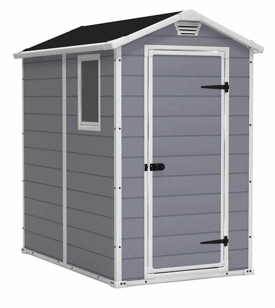 Keter Manor 4X6 Outdoor Shed