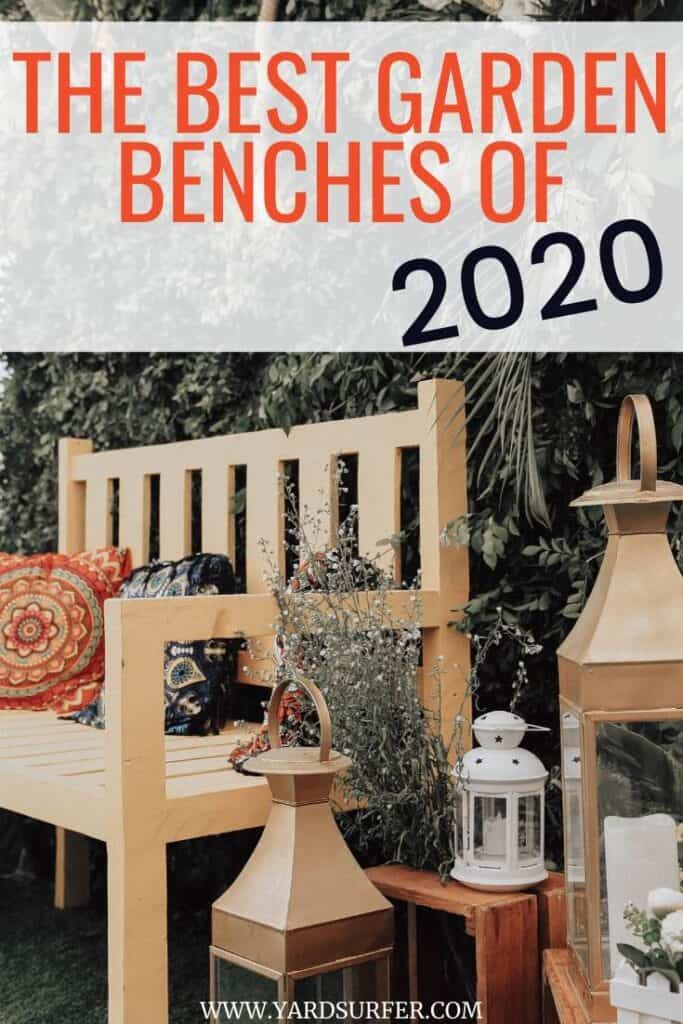 The Best Garden Benches of 2020