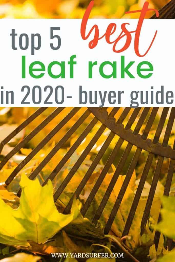 Top 5 Best Leaf Rakes 2020 – Buyer's Guide