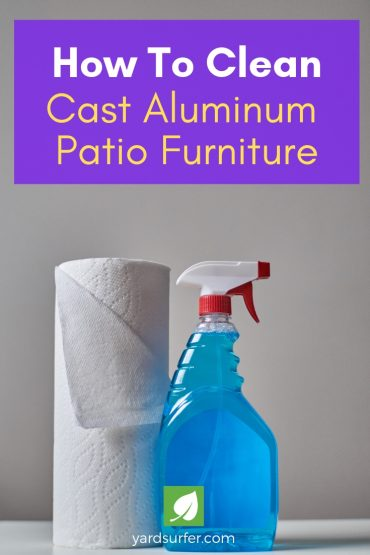 How To Clean Your Cast Aluminum Patio Furniture