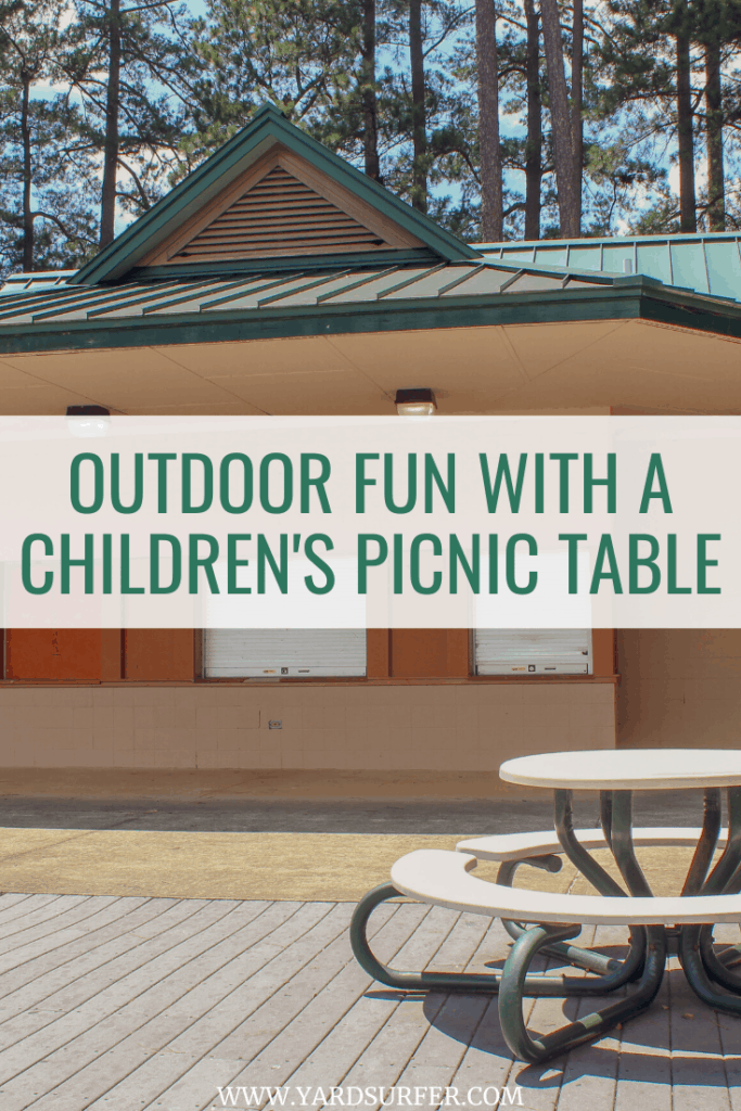 Outdoor Fun with a Children's Picnic Table