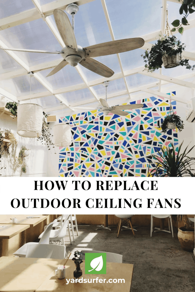 How to Replace Outdoor Ceiling Fans